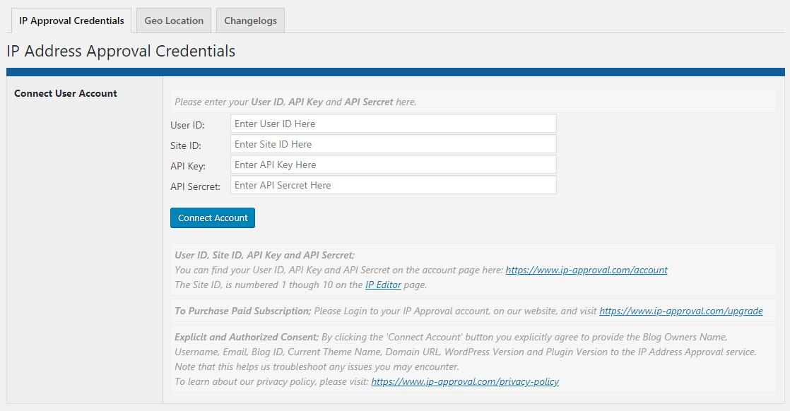 IP Approval WordPress Plugin Instructions - IP Address Approval
